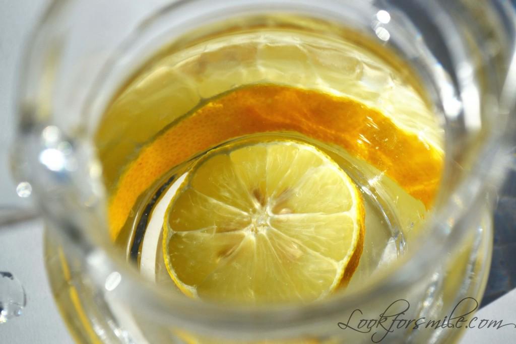 ūdens ar citronu