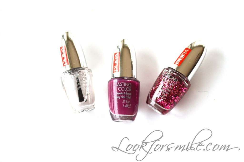 nail polish - look for smile