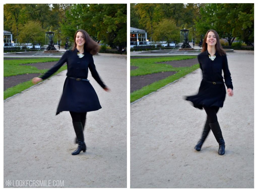 Sieviete melnās drēbēs - blogs - Lookforsmile.com
