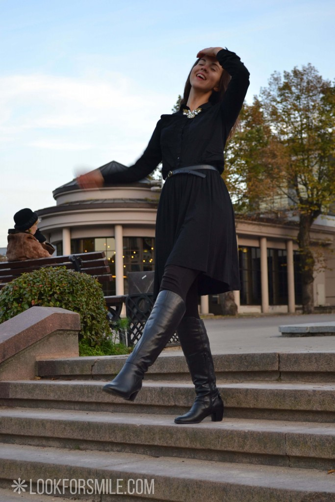 Sieviete melnā - blogs - Lookforsmile.com