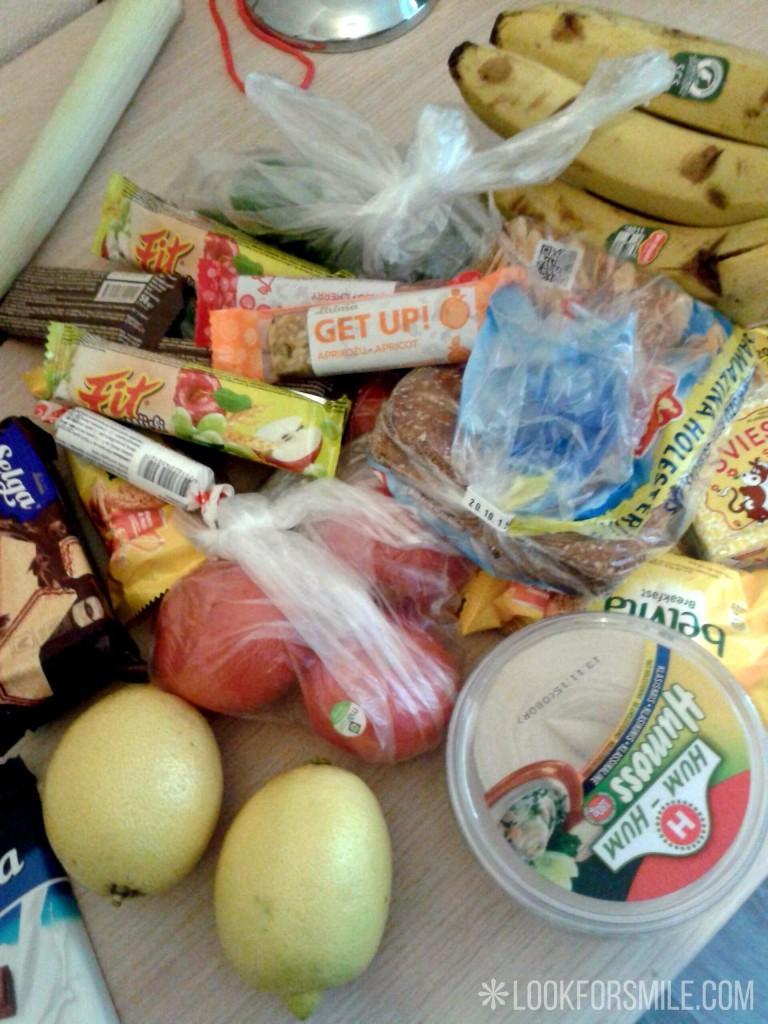 Pārtika 60km pārgājienam - blogs - Lookforsmile.com