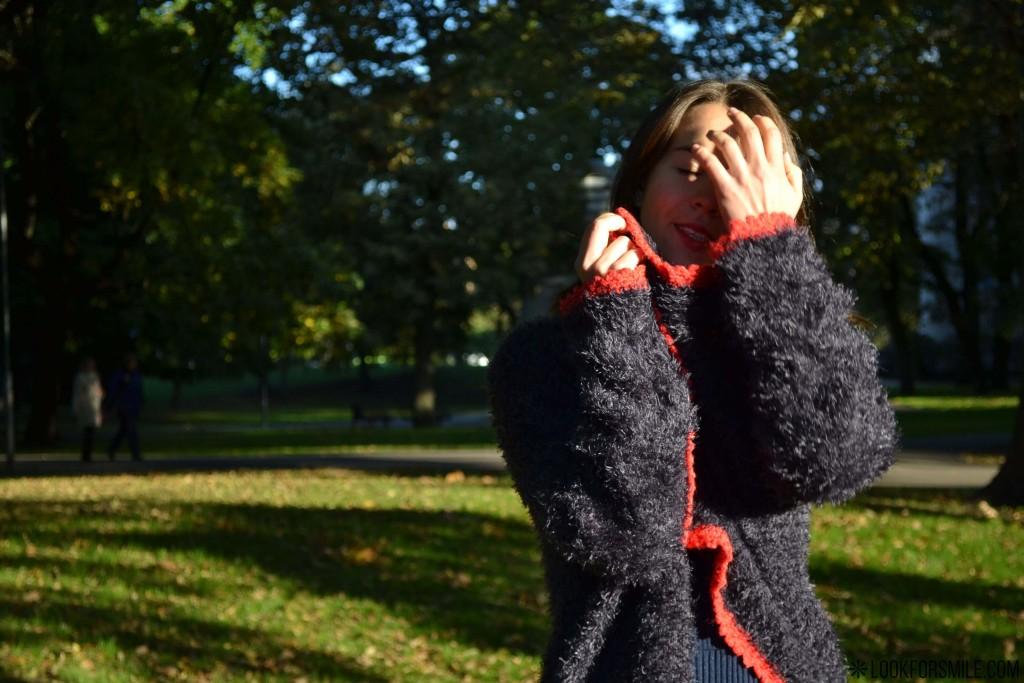 Vizuālais tēls, pūkaina jaka - blogs - Lookforsmile.com
