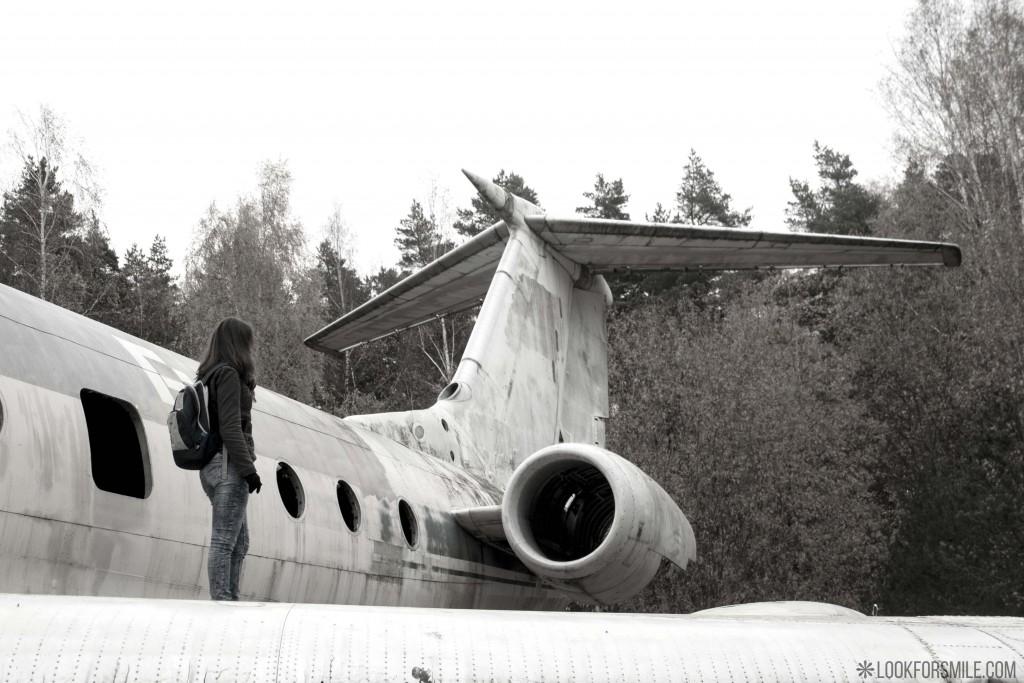 piedzīvojumi ārā, pamesta lidmašīna - blogs - Lookforsmile.com