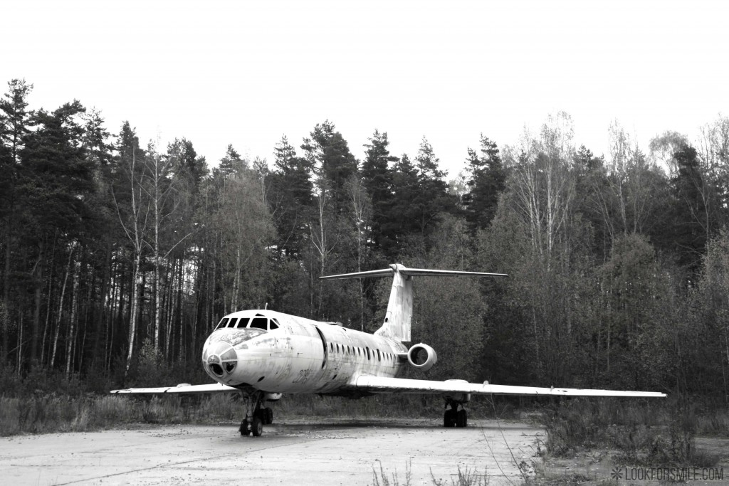Pamesta lidmašīna - blogs - Lookforsmile.com