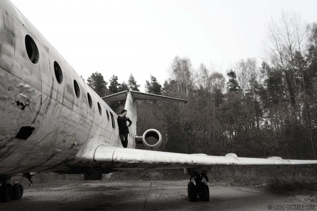 melnbalts foto, pamesta lidmašīna - blogs - Lookforsmile.com