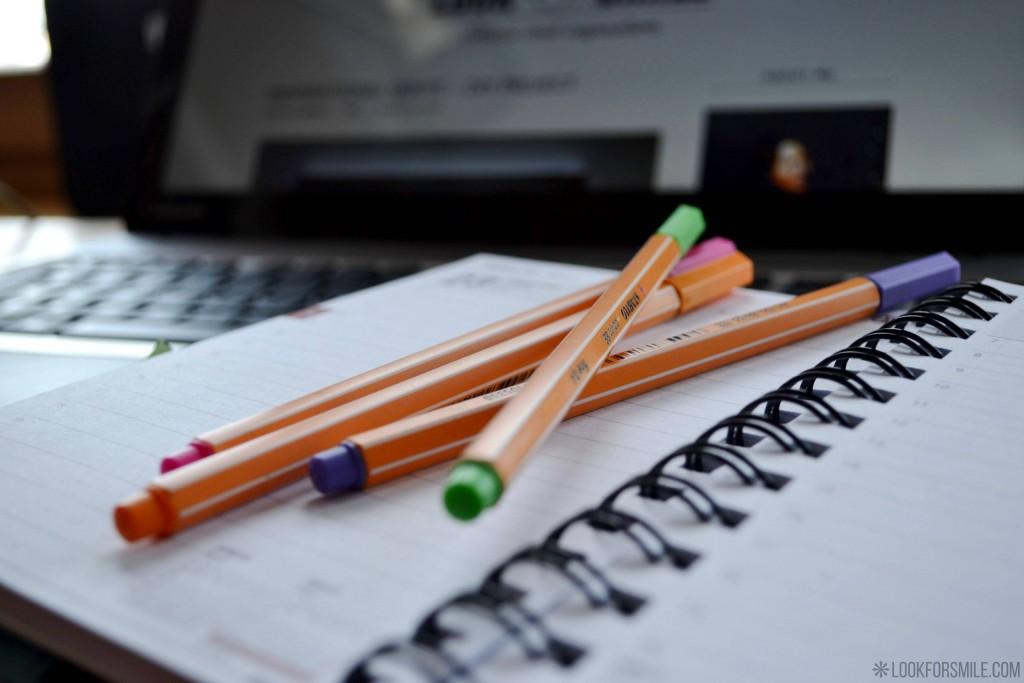 pildspalvas, plānotājs, dators, blogeri - blogs - Lookforsmile.com