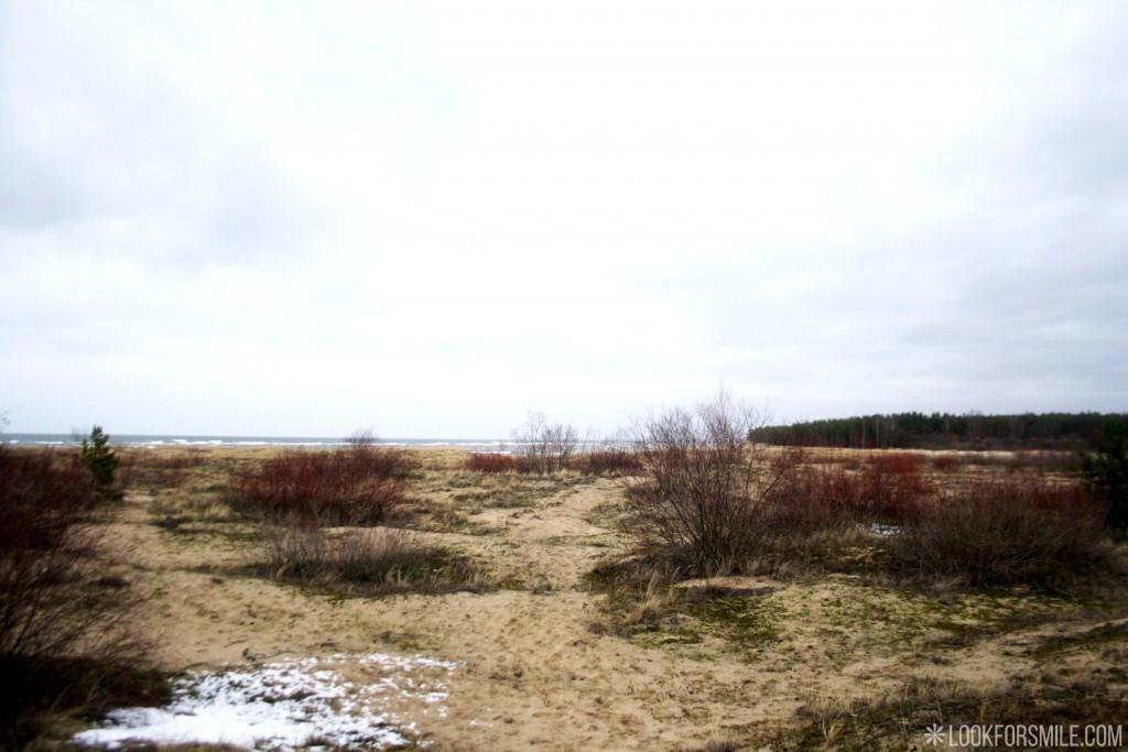 Baltic sea, debouchment, Latvia travel - blog - Lookforsmile.com
