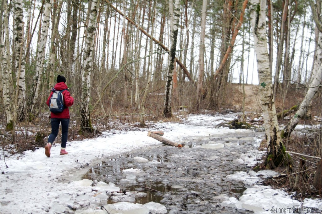 Hiking in Latvia, Baltic sea winter hike - blog - Lookforsmile.com