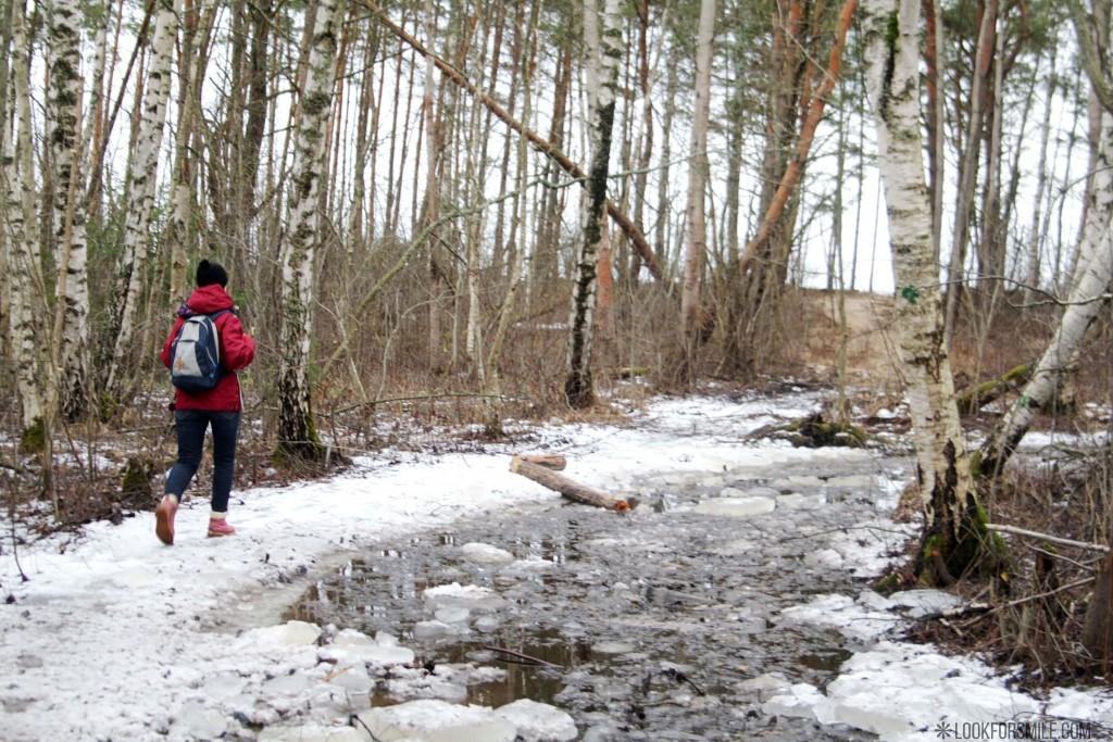 Hiking in Latvia, Baltic sea winter hike - blog - Lookforsmile.com