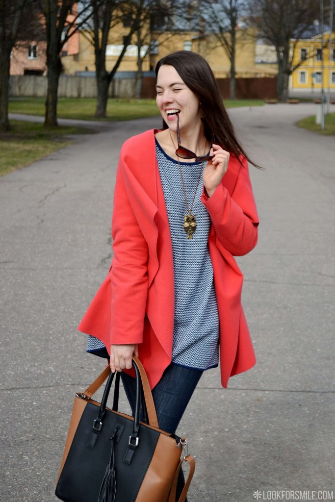 ootd chilly spring - blog - Lookforsmile.com