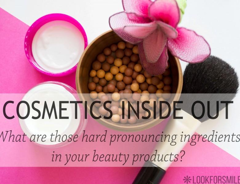 Cosmetic ingredients - blog - Lookforsmile.com