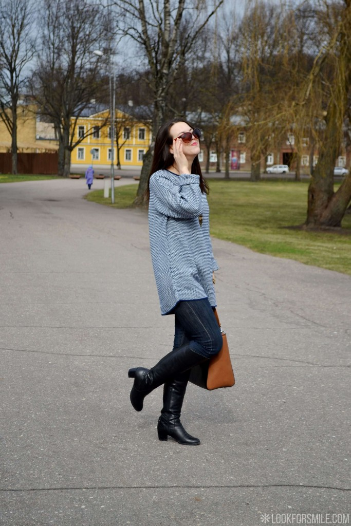 oversized jumper styled - blog - Lookforsmile.com