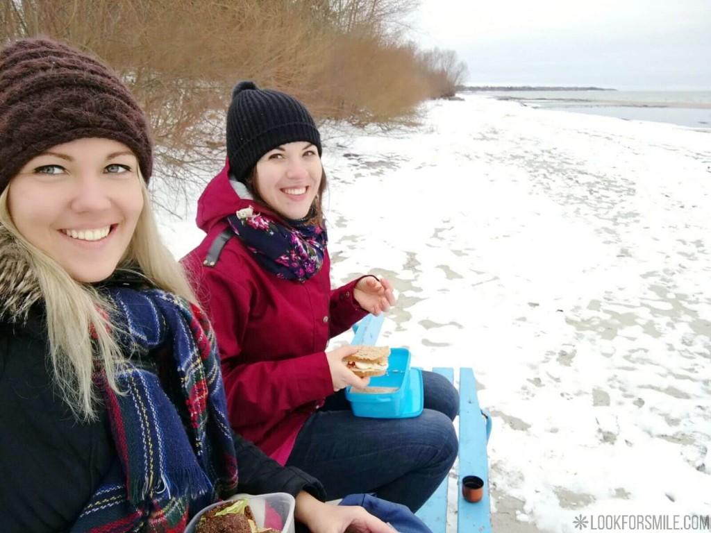 hiking in winter - blog - Lookforsmile.com