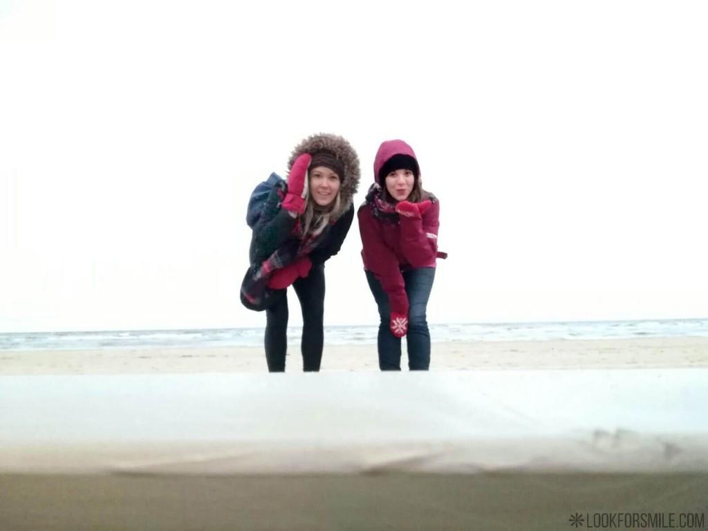walking trip in winter by sea - blog - Lookforsmile.com