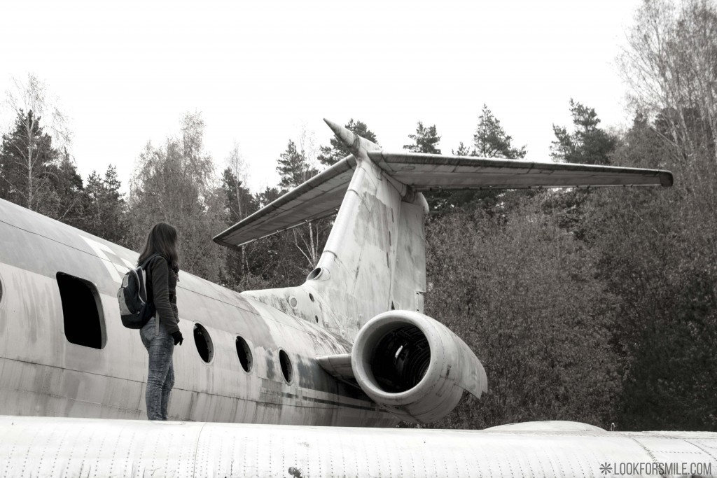 Liebster Award - Abandoned plane - blog - Lookforsmile.com