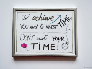Room decor inspirational qoute - blog - Lookforsmile.com