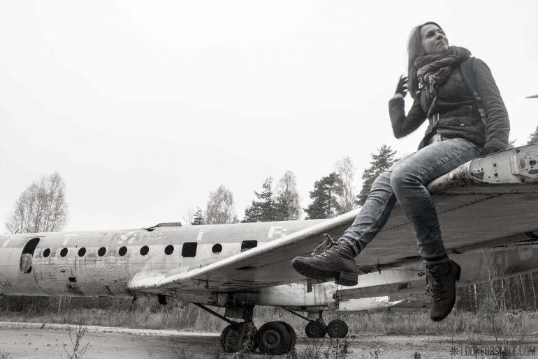 Abandoned plane, adventures - blog - Lookforsmile.com
