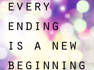 every ending is a new beginning qoute - blog - Lookforsmile.com