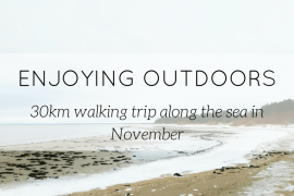 hiking trip in winter - blog - Lookforsmile.com