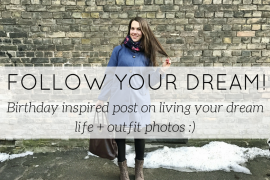 follow your dream birthday - blog - Lookforsmile.com