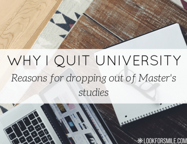 why I quit university - blog - Lookforsmile.com