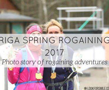 Riga spring rogaining 2017 - blog - Lookforsmile.com