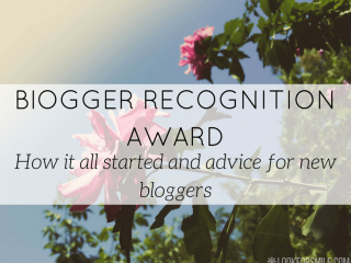 Blogger recognition award advice for new bloggers - blog - Lookforsmile.com