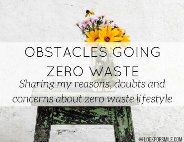difficulties going zero waste - blog - Lookforsmile.com