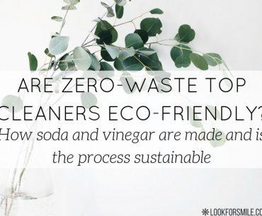 soda and vinegar are ecological - blog - Lookforsmile.com