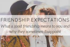 how to be a good friend, friendship talks - blog - Lookforsmile.com