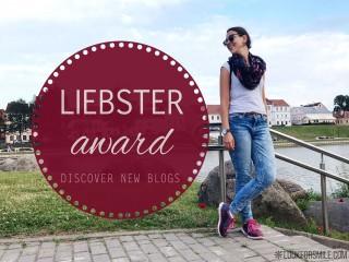 Liebster award post - blog - Lookforsmile.com